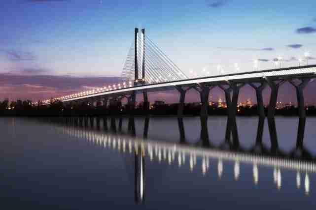 Le contrat du futur pont Champlain est estimé entre 3 et 5 milliards. Le coût approcherait la fourchette inférieure de cette estimation. PHOTO FOURNIE PAR INFRASTRUCTURE CANADA